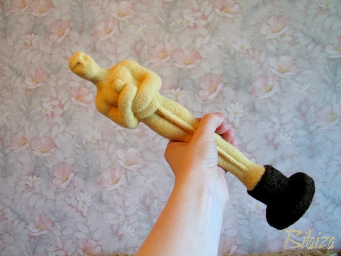 Как сделать статуэтку оскар своими руками из пластилина