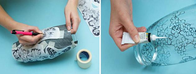 Как сделать витражную краску своими руками