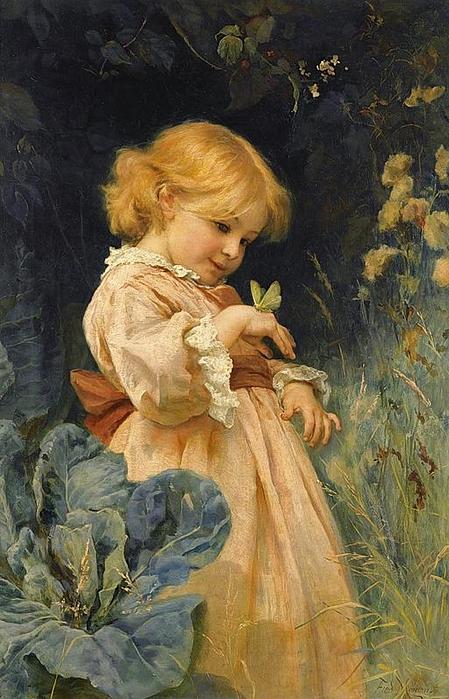 Frederick Morgan - Der Schmetterling (449x700, 279Kb)