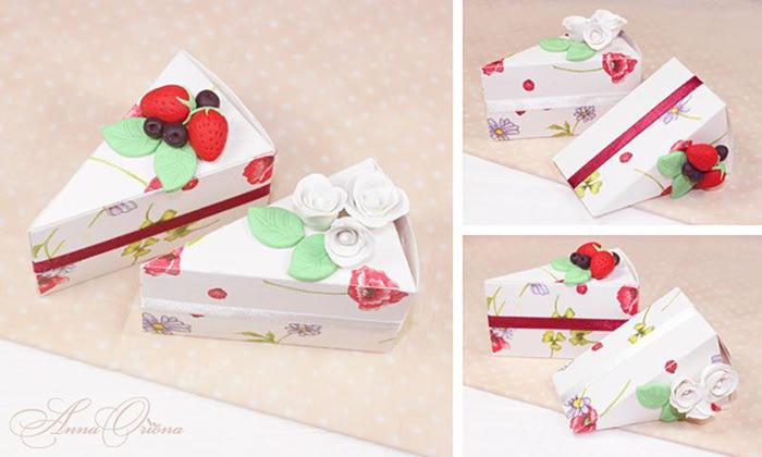 Упаковку для торта своими руками
