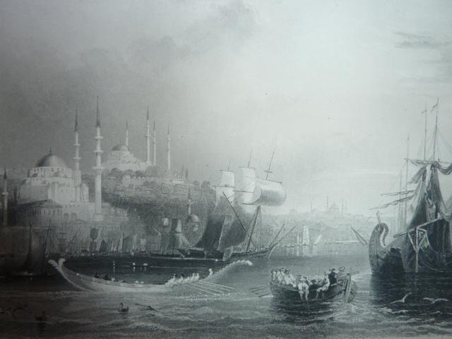 1 Константинополь. Вид с бухты (640x480, 141Kb)