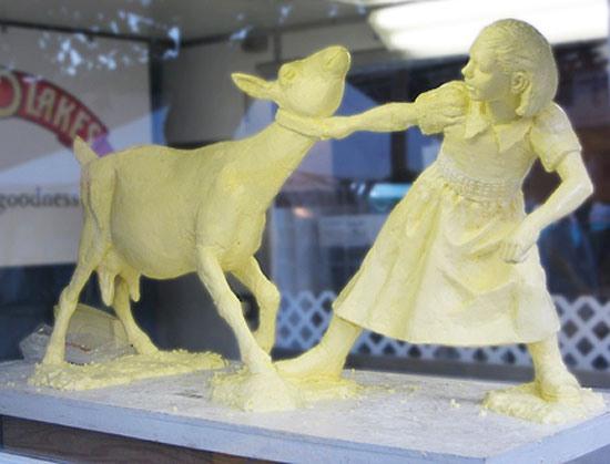 скульптуры из сливочного масла  4 (550x419, 45Kb)