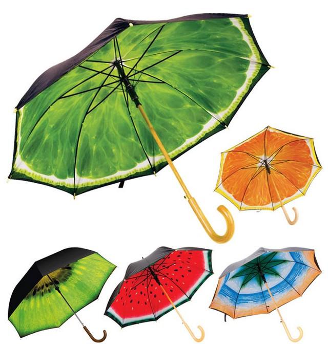Красивые и необычные зонты