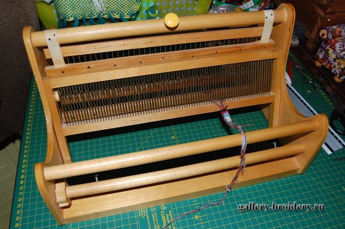 Станок для плетения ковров 25