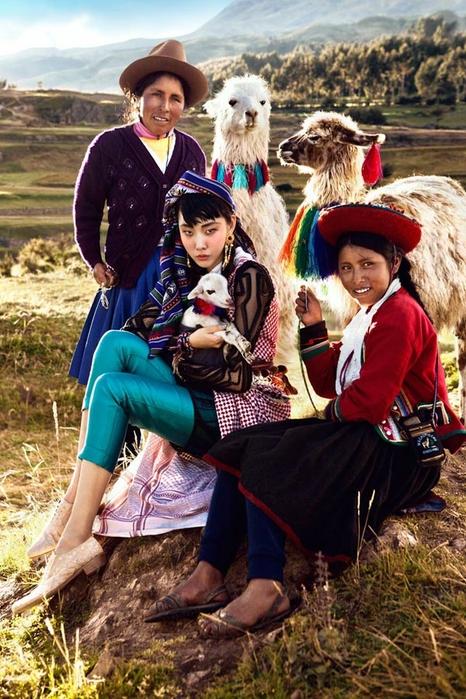 модная фотосессия в этническом стиле 1 (466x700, 311Kb)