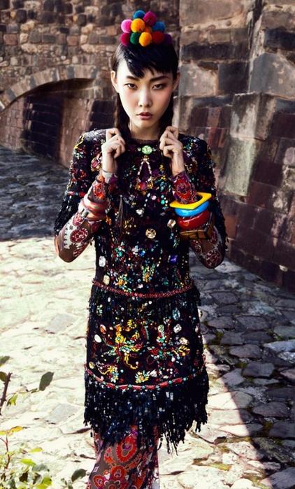 модная фотосессия в этническом стиле 7 (422x700, 278Kb)
