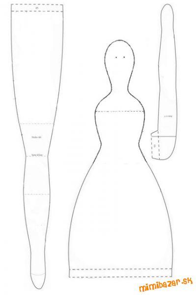 Выкройки куклы тильда выкройки чертежи мастер класс фото