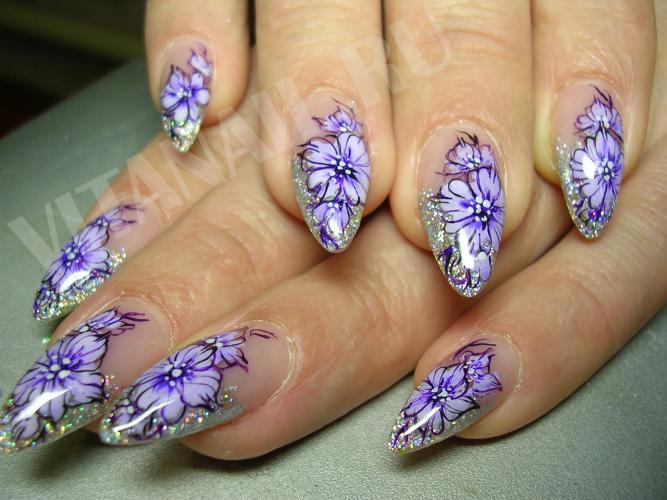 Фото дизайн ногтей с цветами pictures and ...: kormuha.ru/foto-dizayn-nogtey-s-cvetami.html