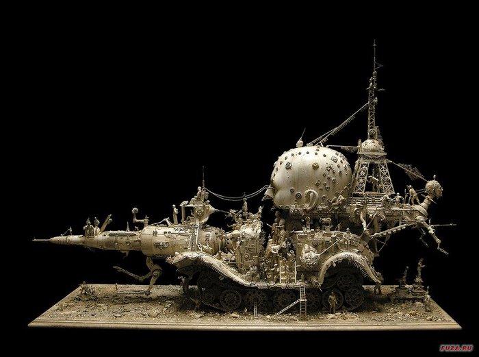 Kris Kuksi скульптуры 13 (700x521, 57Kb)