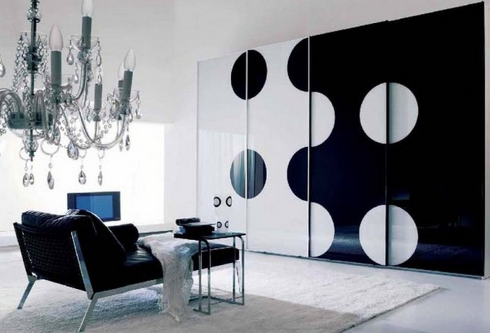 Черно-белый дизайн квартир 2 (700x475, 63Kb)