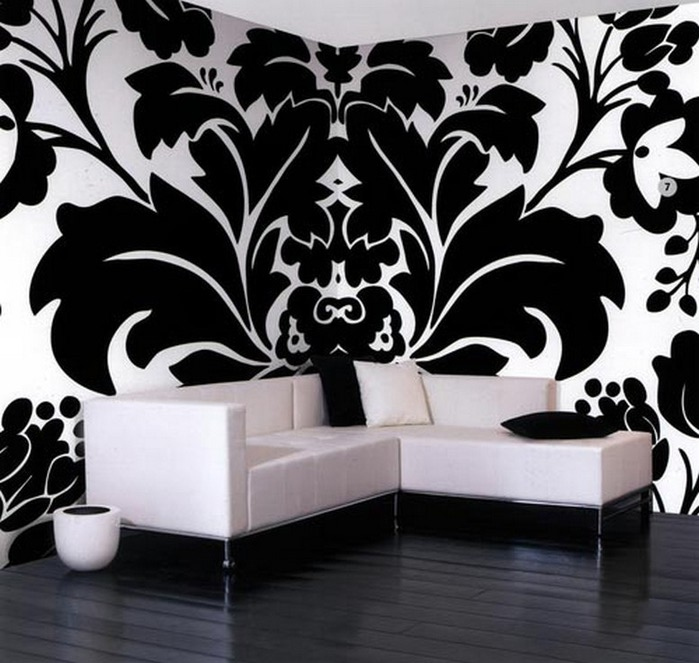 Черно-белый дизайн квартир 8 (700x663, 104Kb)