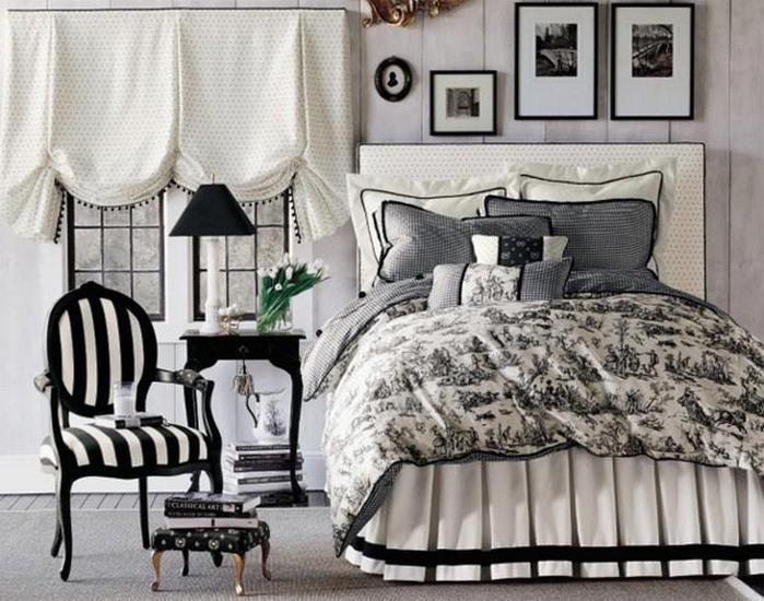 Черно-белый дизайн квартир 20 (700x550, 123Kb)