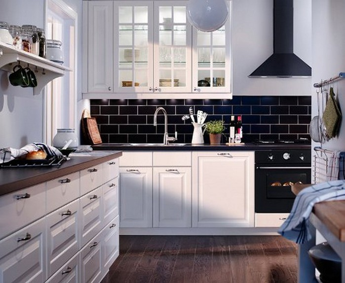 Черно-белый дизайн квартир 21 (700x575, 95Kb)