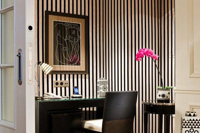 Черно-белый дизайн квартир 30 (700x466, 88Kb)