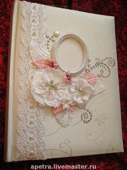 Как оформить своими руками свадебный альбом 60