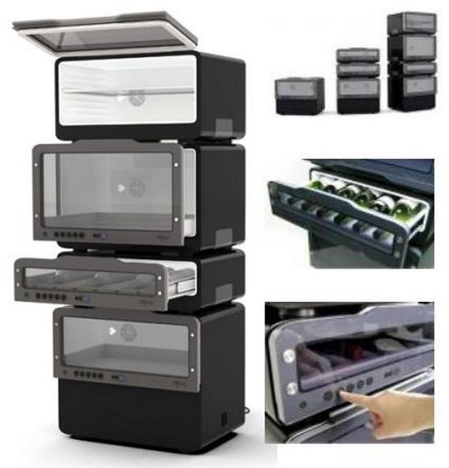 Креативный дизайн холодильника для вашей кухни 10 (640x667, 63Kb)