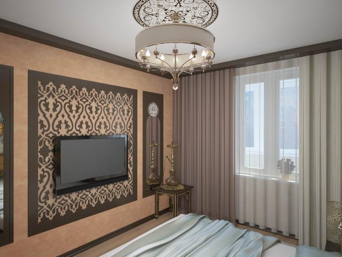 Дизайн комнаты гостиной-кабинета