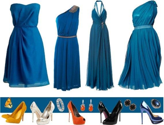 Туфли Под Темно Синее Платье