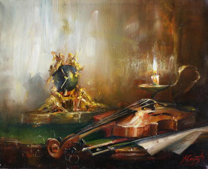 Натюрморты В Екимова. Обсуждение на ...: www.ipola.ru/post226487606