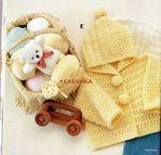 Превью Yellow Baby Crochet0-24 months 010 (700x670, 271Kb)