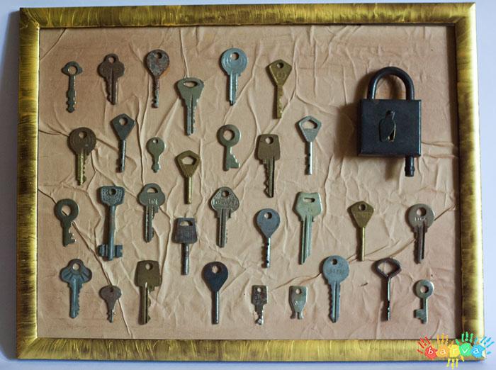 Поделки из ключей