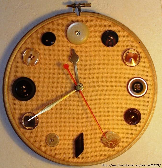 Круглые часы своими руками 290