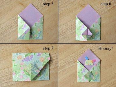 Как сделать маленький конвертик из бумаги своими руками