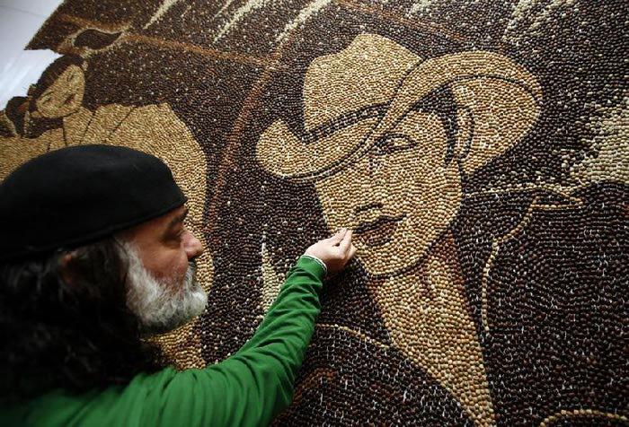 мозаика из кофейных зерен Саимир Страти 3 (700x476, 114Kb)
