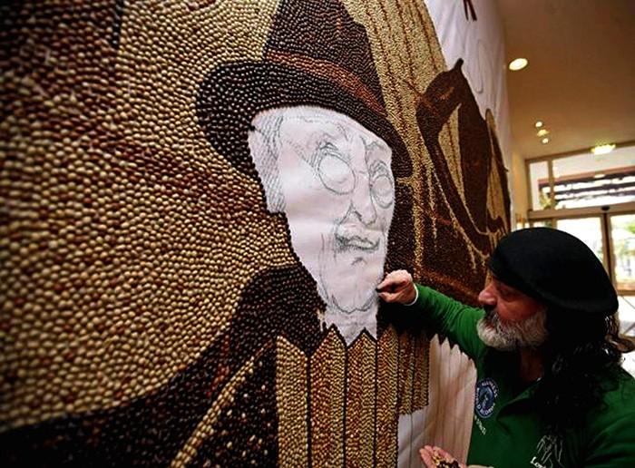 мозаика из кофейных зерен Саимир Страти 4 (700x516, 137Kb)