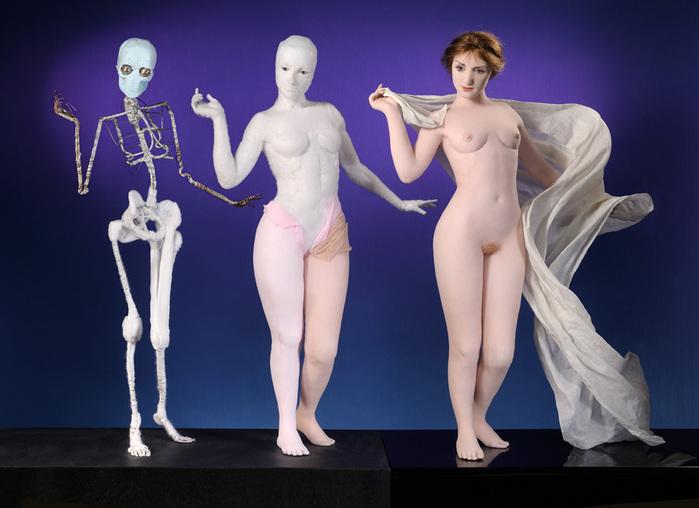 Скульптурные куклы из колготок. Авторские куклы Лизы Лихтенфелс (Lisa Lichtenfels dolls) / Авторская кукла известных дизайнеров