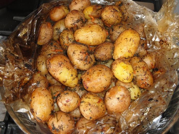 Рецепты картошки в пакете для запекания