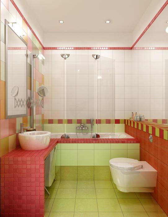 плитка в ванной хрущевка фото