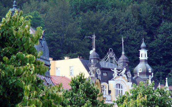 Курорт Марианске Лазне - зелёная жемчужина Чехии. 50239
