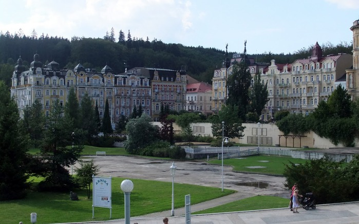 Курорт Марианске Лазне - зелёная жемчужина Чехии. 38122