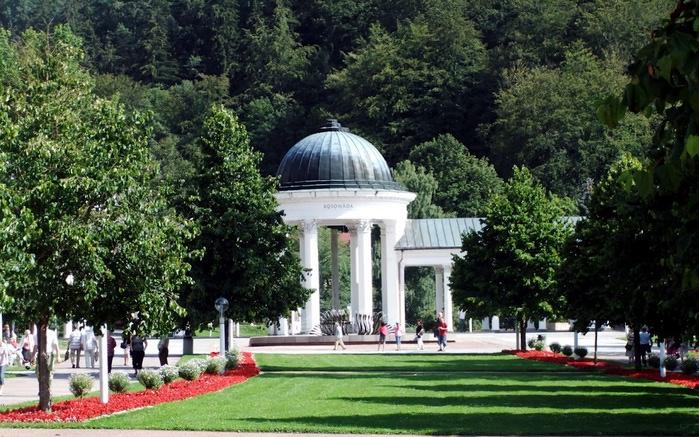 Курорт Марианске Лазне - зелёная жемчужина Чехии. 67273
