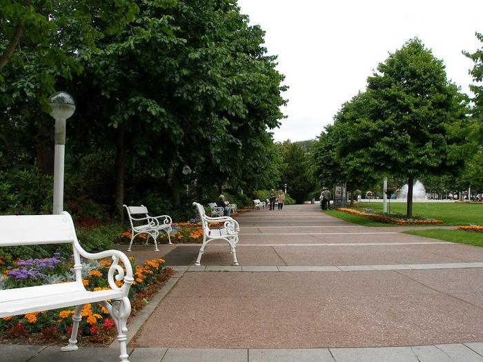 Курорт Марианске Лазне - зелёная жемчужина Чехии. 85706