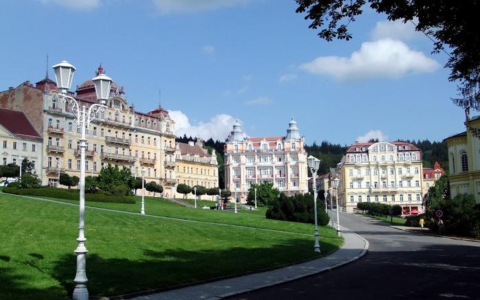 Курорт Марианске Лазне - зелёная жемчужина Чехии. 99237