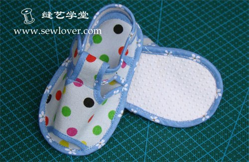 Сшить самим обувь для самых маленьких