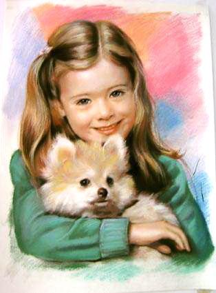 Уроки рисования портрета, бесплатные видео-уроки рисования, уроки рисования пастелью для начинающих, портрет пастелью урок, рисование портрета пастелью