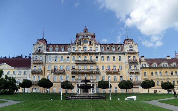 Курорт Марианске Лазне - зелёная жемчужина Чехии. 14256