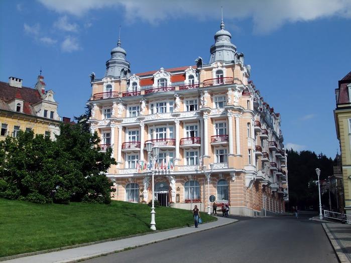 Курорт Марианске Лазне - зелёная жемчужина Чехии. 99744