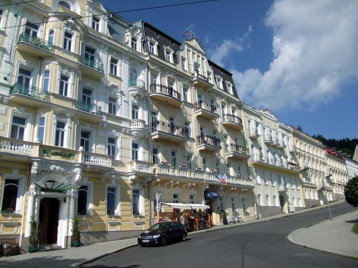 Курорт Марианске Лазне - зелёная жемчужина Чехии. 48978