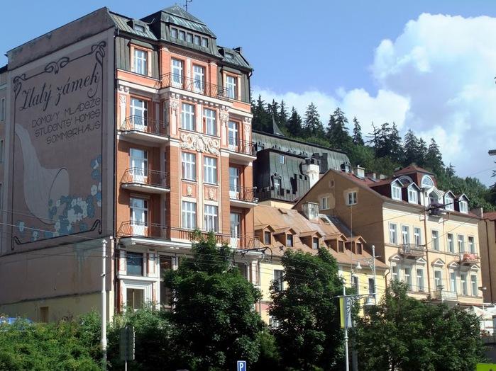 Курорт Марианске Лазне - зелёная жемчужина Чехии. 25646