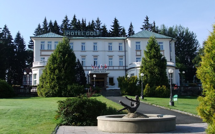 Курорт Марианске Лазне - зелёная жемчужина Чехии. 24580