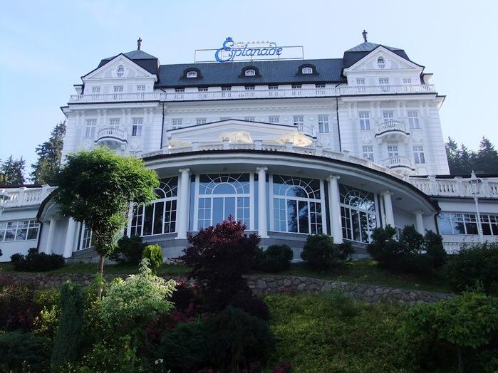 Курорт Марианске Лазне - зелёная жемчужина Чехии. 44137