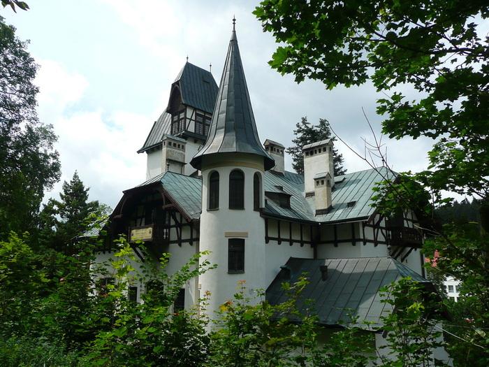 Курорт Марианске Лазне - зелёная жемчужина Чехии. 71949