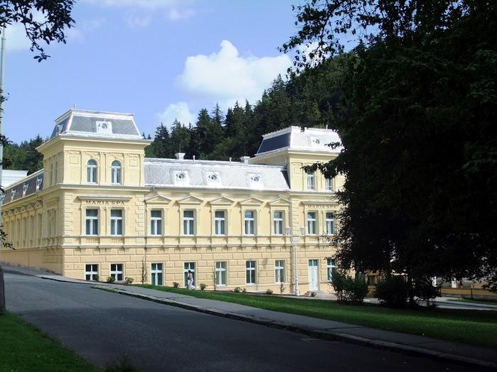 Курорт Марианске Лазне - зелёная жемчужина Чехии. 81279