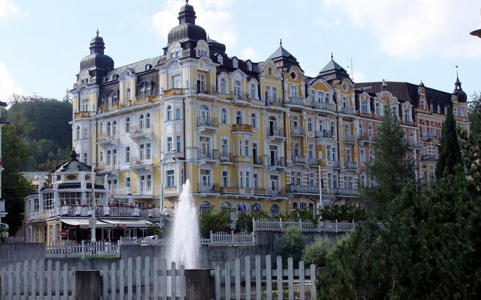 Курорт Марианске Лазне - зелёная жемчужина Чехии. 30794