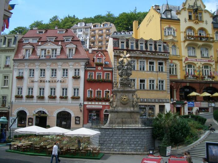Курорт Марианске Лазне - зелёная жемчужина Чехии. 99960