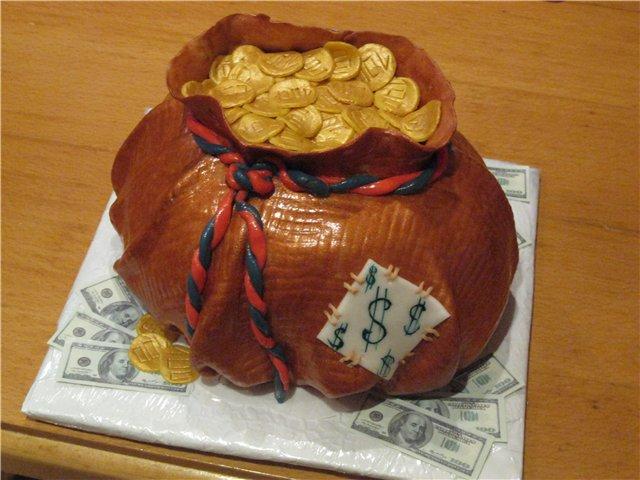 Как сделать торт мешком 261